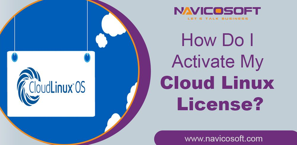 activate my CloudLinux license